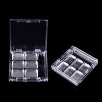 Leere quadratische Gitter Lidschatten Lippenstift  Box Kosmetik Pack X Y4