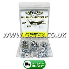 Suzuki RM250 1993-1995 Full Plastics Fastener Kit - Nuts/Bolts/Washers