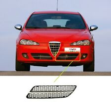 Alfa Romeo 147 2007-2010 Front Bumper Grille With Silver Moulding Passenger Side
