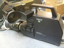 Vintage Sony Trinicon HVC-2000 Professional Color Video Camera Camcorder & Case