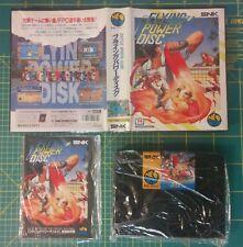 Flying Power Disc Neo Geo AES Jap
