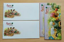 2010 Malaysia Local Markets, Blank FDC ( lot of 2 blank covers )