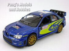 Subaru 2007 Impreza WRC 1/36 Scale Diecast Model by Kinsmart - BLUE