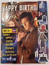 DOCTOR WHO BIRTHDAY CARD  ACTIVITY PACK HOURS OF ENTERTAINMENT
