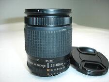 Nikon NIKKOR 28-80mm f/3.5-5.6 AF-D Lens with aperture ring Works good SN2096052