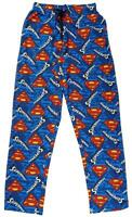 Mens Lounge Pants Superman Pjs S Logo Pyjama Bottoms Official Cotton S to XL