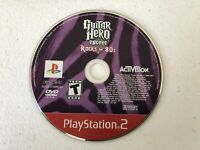Guitar Hero Encore Rocks the 80's - Playstation 2 PS2 - Cleaned & Tested
