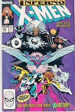 UNCANNY X-MEN  #242 1989 X-FACTOR, MADELYNE PRYOR, WOLVERINE  CLAREMONT GIANT