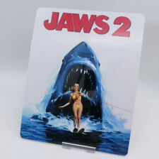 JAWS 2 - Glossy Bluray Steelbook Magnet Cover (NOT LENTICULAR)