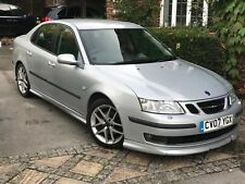 Silver Saab 9-3 Aero 2.0 Turbo 2007 Nottingham