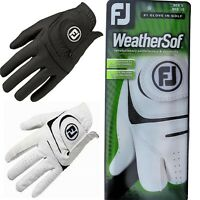 FootJoy FJ Weathersof Golf Glove Mens & Ladies Left & Right Hand, White or Black