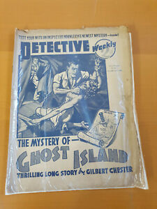 DETECTIVE WEEKLY No. 301 from 1938