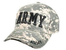 HAT US ARMY ACU DIGITAL CAMO LOW PROFILE CAP HOOK AND LOOP CLOSURE ROTHCO 9488