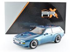 IXO Premium X 1981 Porsche 924 Turbo Kombi By Artz Blue Color 1/18 In Stock! New