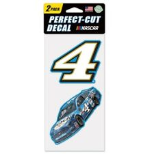 Kevin Harvick 2019 Wincraft #4 Busch Beer NEW MUSTANG 4x8 2pc Decal Set FREE