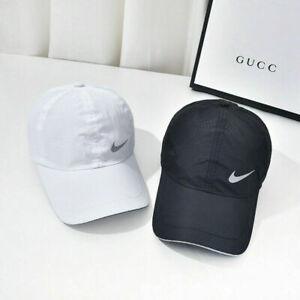 New Nike Quick dry Baseball cap hat Sports golf Adjustable cap Sunhat Peaked cap