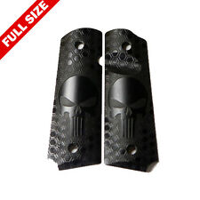 "1911 Pistol Grips .25"" Thickness - Honeycomb Punisher Design"