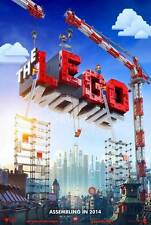 The Lego Movie DOUBLE SIDED ORIGINAL MOVIE film POSTER Advance US One Sheet!