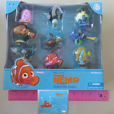 New Disney Pixar Finding Nemo Collectible Figures 9 Pcs Cake Topper Dory Marlin