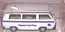 VW Bus HAPAG LLOYD FLUG Werbemodell WIKING 1:87