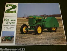 Two-cylinder - MAI 1999-John Deere série B