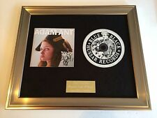 SIGNED/AUTOGRAPHED ADAM ANT-MARRYING THE GUNNERS DAUGHTER FRAMED CD PRESENTATION
