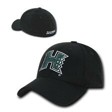 University of Hawaii Rainbow Warriors NCAA Flex Baseball Fitted Fit Ball Cap Hat