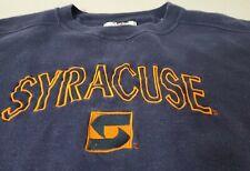 New ListingTeam Edition Apparel Syracuse University Sweatshirt Pullover Blue Men's 2Xl