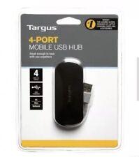New Targus 4 Port Smart Mobile USB Hub With Power Supply
