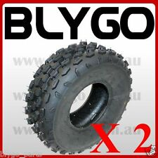 "2X QIND 4PLY 19 X 7 - 8"" inch Front Knobby Tyre Tire Quad Dirt Bike ATV Buggy"