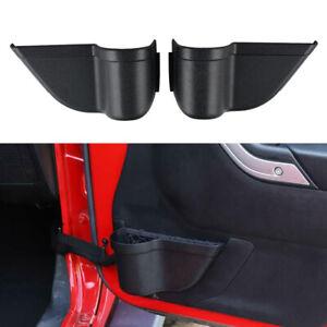 2x Car Door Storage Box Pocket Organizer Accessories Fits Jeep Wrangler JK 11-17
