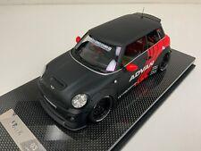 1/18 Mini Cooper LB Performance Liberty walk Advan Carbon Fiber Base N BBR  MR
