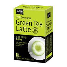 Nokchawon Green Tea Latte (10 sachets), For Green Tea Ice Cream , Healthy Drink