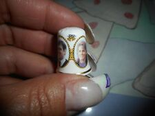 Collectible Thimble The Duke & Dutchess of York Andrew & Sarah