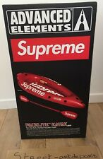 Supreme Advanced Elements Packlite Kayak Red DS 10/10 RUNNING LTD  KAWS BANKSY