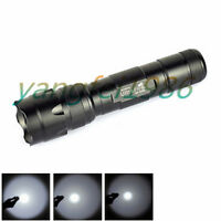 UltraFire WF-502B CREE XM-L T6 LED Bulb 2000LM 18650 Flashlight Torch Tactical#Y
