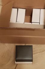 Lot of 12 new gray hard jewelry boxes