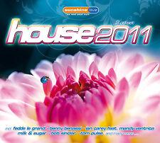 CD House 2011 por diversos Artistas 2CDs