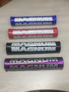 Vintage / Modern Crossbar Pad Red / Black / Purple / Blue CR RM KX KDX YZ NEW!