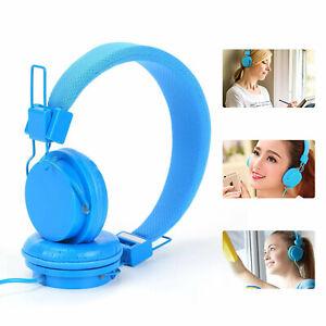 NEW Kids Over Ear Headphones Kidssafe Childrens Earphones For iPad/Tablet UK