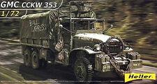 Heller gmc cckw 353 truck new mint & sealed 1/72