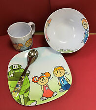 WMF Kinderbesteck-Set 4-teilig - Kinder Besteck NEU Willy Mia Fred