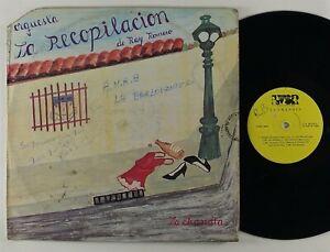 """Orquesta La Recopilacion """"La Chandia"""" Latin Salsa Guaguanco LP LVSR"""