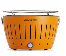 Lotus Grill Standard Smokeless BBQ Suitable for 5 people Fast Cooking Orange