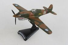 PS5354-1 POSTAGE STAMP CURTIS P-40B HELL'S ANGEL'S 1/90 DIE-CAST MODEL AIRPLANE