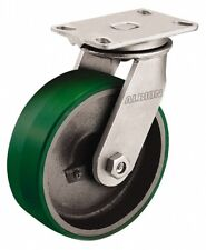 Albion 4 Inch Diameter x 3-1/4 Inch Wide, Swivel Caster with Top Plate Mount ...