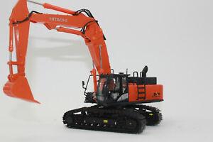OO Hitachi Zaxis 470 + Verstellausleger + Demolition Abbruchausleger Umbau 1:50