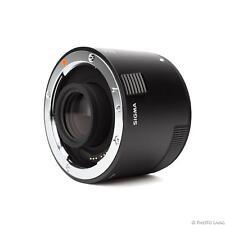 Sigma TC-2001 téléconvertisseur 2.0X Canon ef-mount