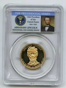 2010 S $1 Abraham Lincoln Dollar PCGS PR70DCAM
