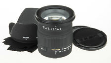 Sigma 17-70mm f/2.8-4.5 DC MACRO lens for Canon DSLR +hood, cloth and caps
